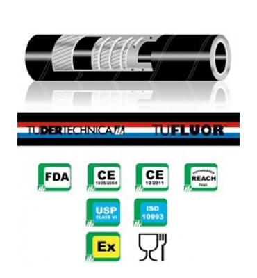 Tufluor PTFE chem full conductive